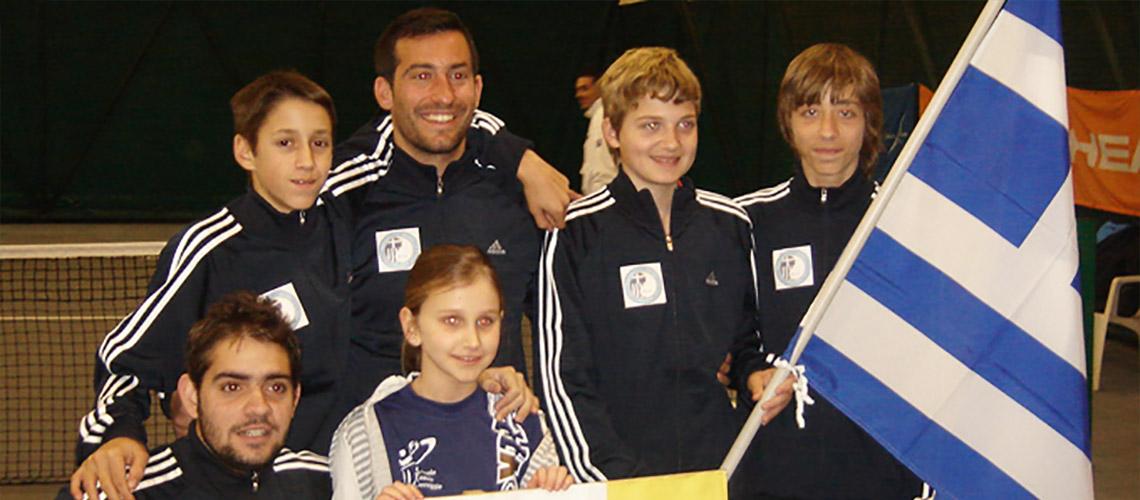 Πανευρωπαϊκό 2010 Τσεχία U14 Παπαγεωργίου Γιώργος- Καραμάνης Θανάσης