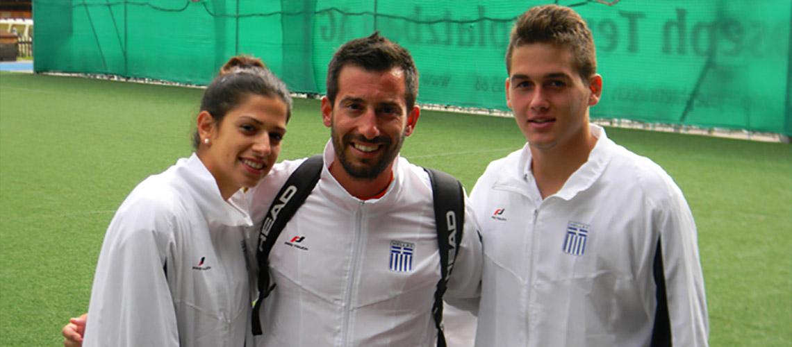 Εθνική Ομάδα 2013 Ελβετία U18 Κόκκοτα Αγγελική - Παπαϊωάννου Γιάννης
